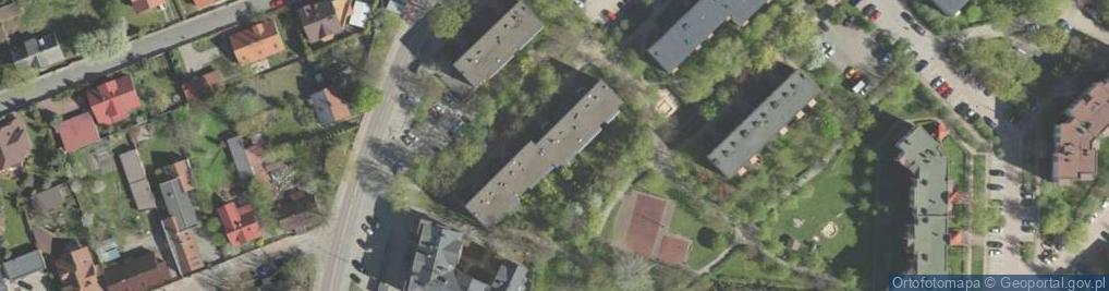 Zdjęcie satelitarne Skorupska ul.