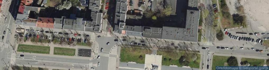 Zdjęcie satelitarne Skwer Kościuszki Tadeusza, gen. skw.