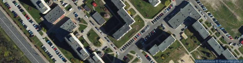 Zdjęcie satelitarne Skarżyńskiego Stanisława, ppłk. pil. ul.
