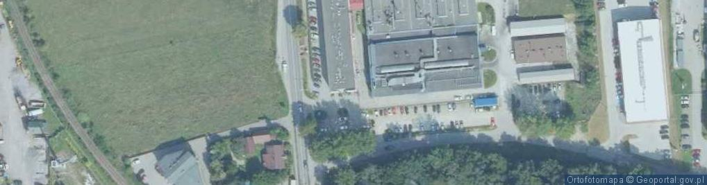 Zdjęcie satelitarne Skrudlak ul.
