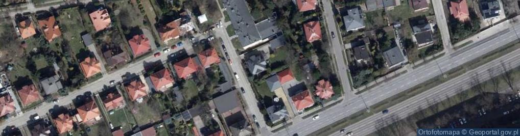 Zdjęcie satelitarne Skarbowa ul.