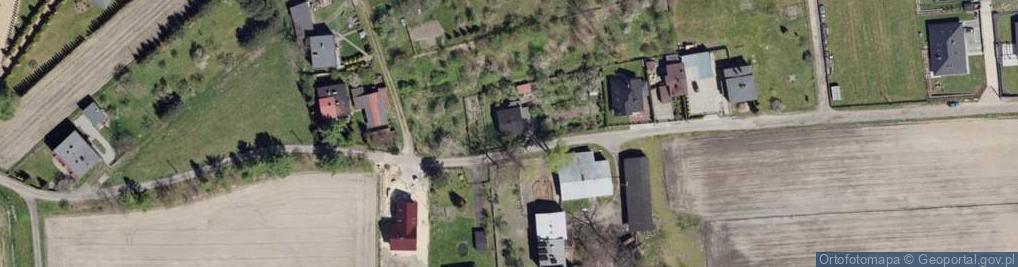 Zdjęcie satelitarne Skośna ul.