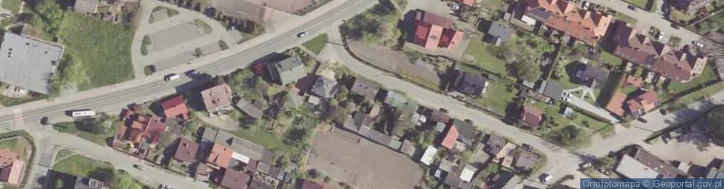Zdjęcie satelitarne Skórzana ul.