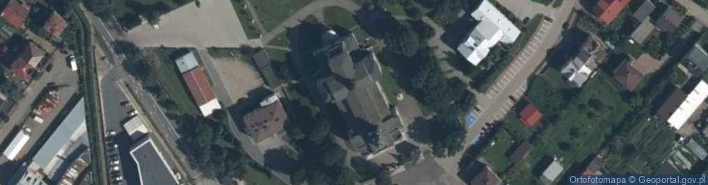 Zdjęcie satelitarne Skwer Najświętszej Marii Panny skw.