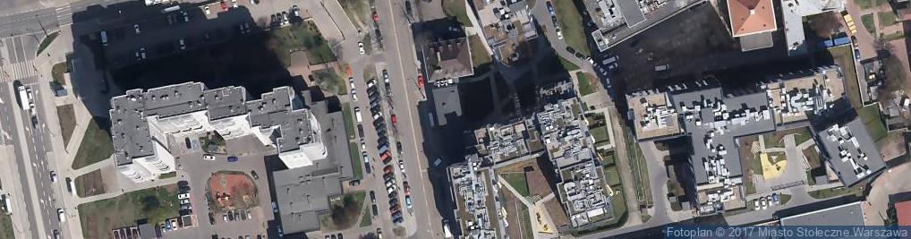 Zdjęcie satelitarne Skierniewicka ul.