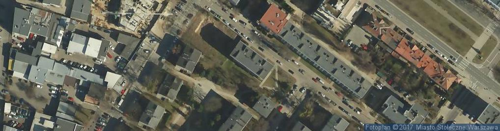 Zdjęcie satelitarne Skalbmierska ul.