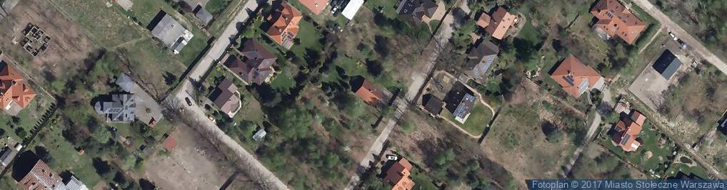 Zdjęcie satelitarne Skrzypów ul.