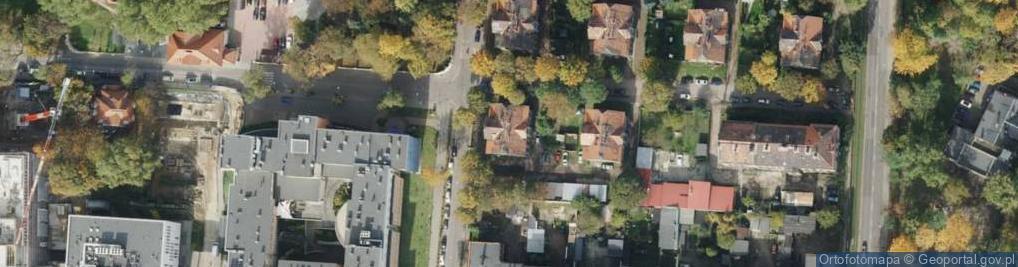 Zdjęcie satelitarne Skłodowskiej-Curie Marii ul.