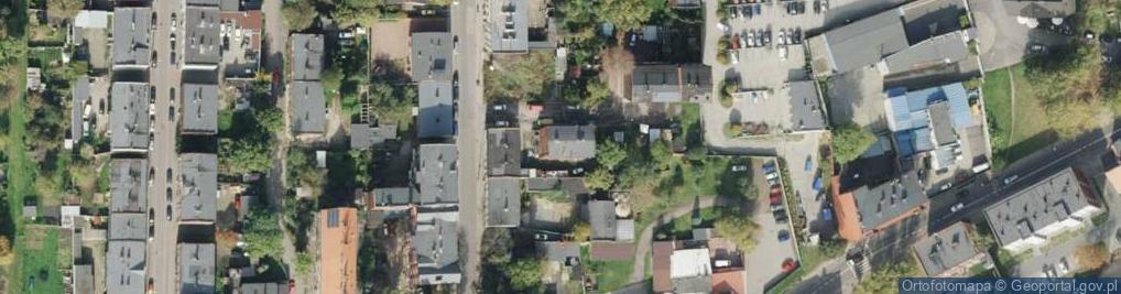 Zdjęcie satelitarne Skoczylasa Władysława ul.