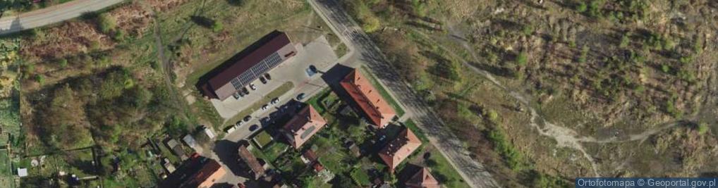 Zdjęcie satelitarne Skargi Piotra, ks. ul.