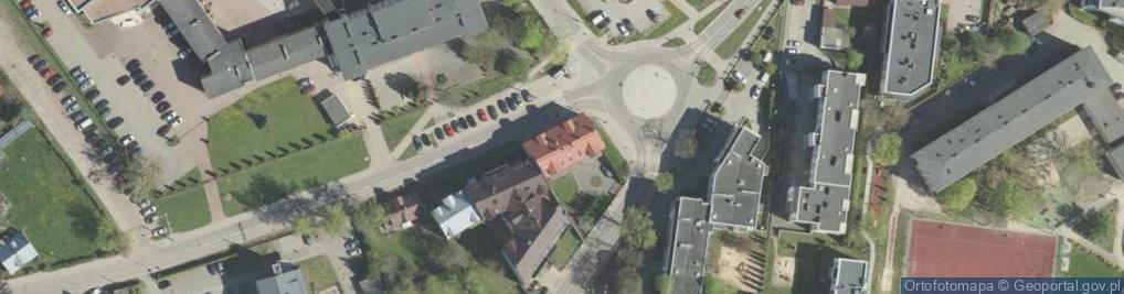 Zdjęcie satelitarne Słonimska ul.