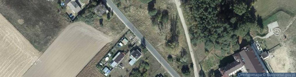Zdjęcie satelitarne Słońsk Górny ul.