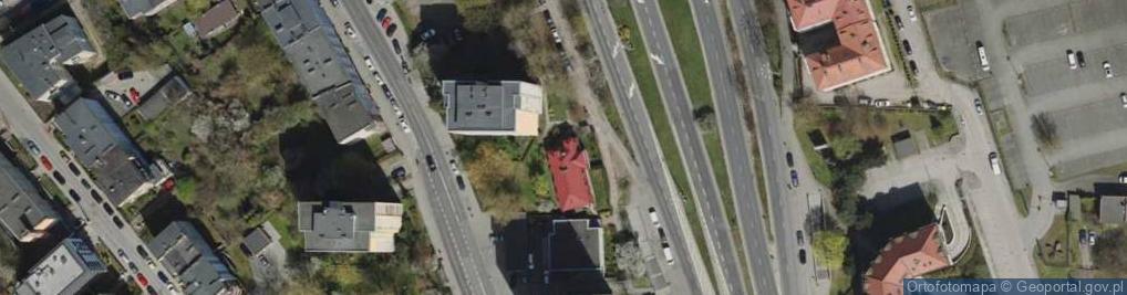 Zdjęcie satelitarne Śląska ul.