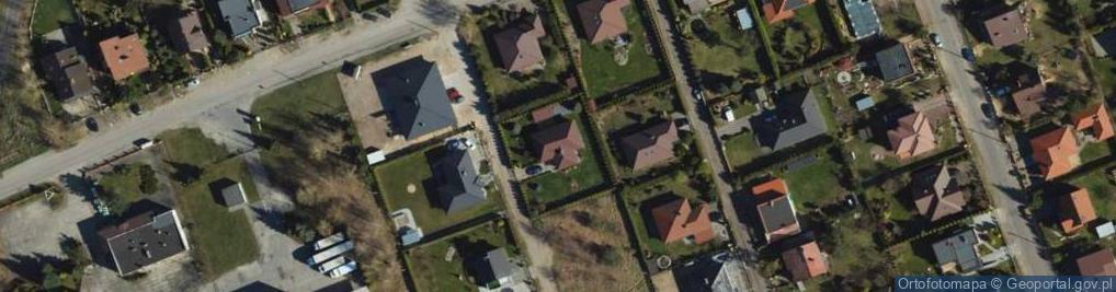 Zdjęcie satelitarne Słonecznikowa ul.