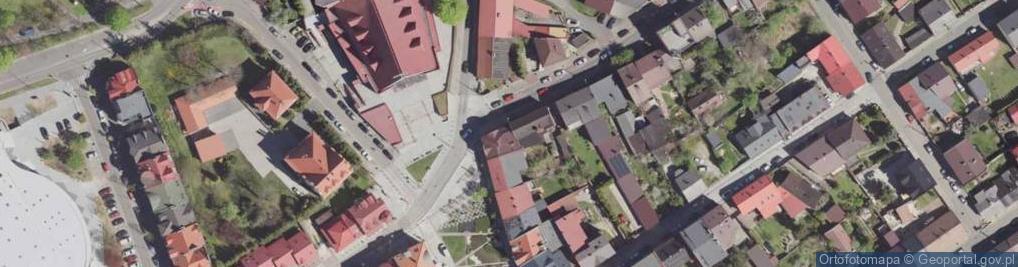 Zdjęcie satelitarne Sławkowska ul.