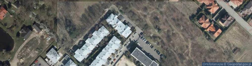 Zdjęcie satelitarne Słoneczny Sad ul.