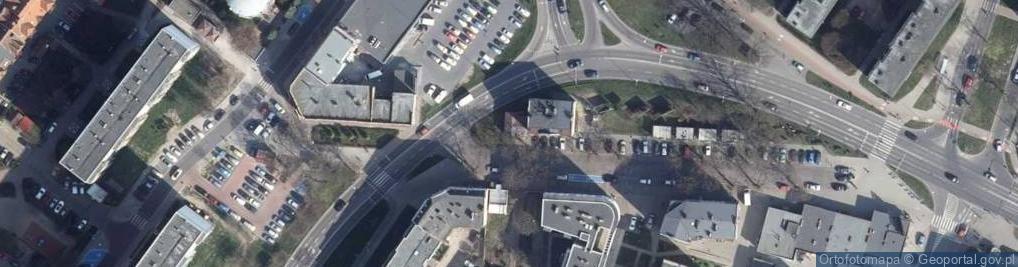 Zdjęcie satelitarne Słowińców ul.