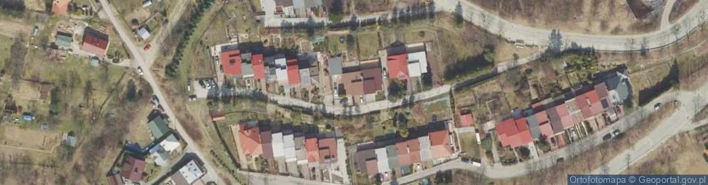 Zdjęcie satelitarne Słabego Mieczysława, mjr. ul.