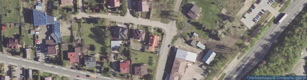 Zdjęcie satelitarne Sławna ul.
