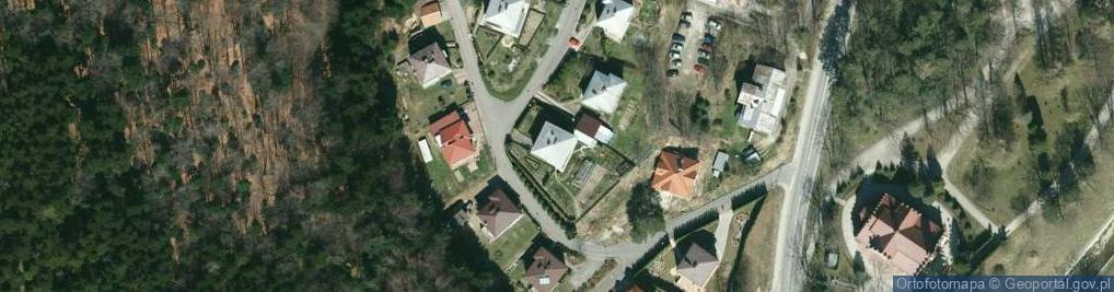 Zdjęcie satelitarne Słoneczny Stok ul.