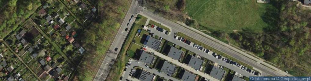 Zdjęcie satelitarne Ślęzan ul.