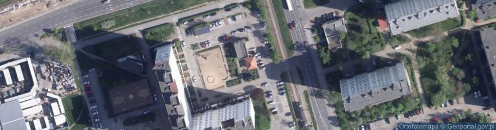 Zdjęcie satelitarne Ślaskiego Ludwika ul.
