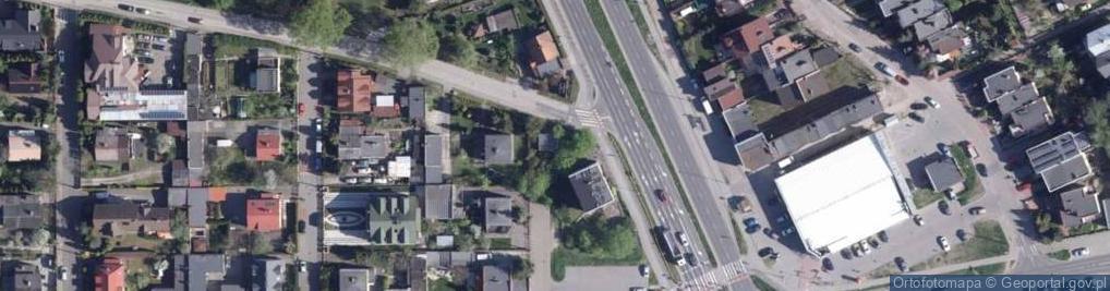 Zdjęcie satelitarne Słowicza ul.
