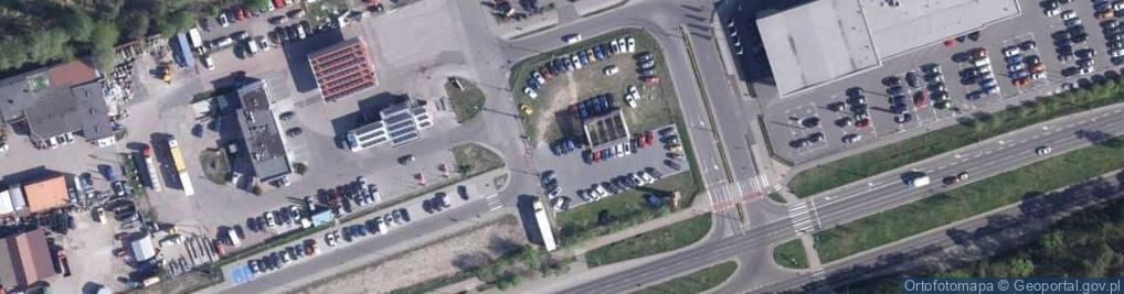 Zdjęcie satelitarne Słupska ul.