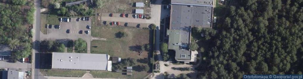 Zdjęcie satelitarne Służewska ul.