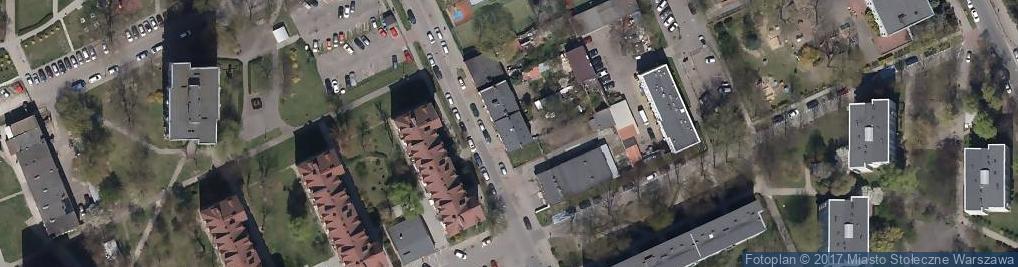 Zdjęcie satelitarne Słubicka ul.