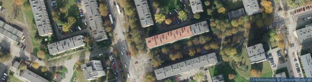 Zdjęcie satelitarne Ślęczka Pawła ul.