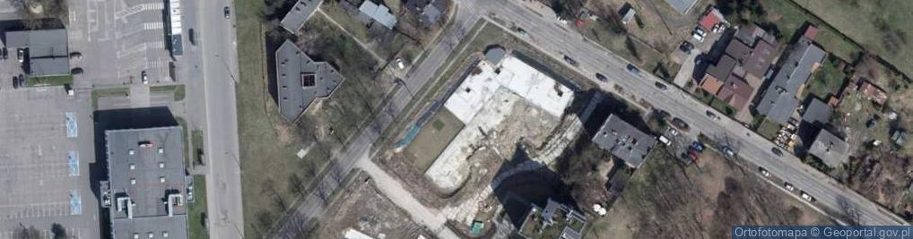 Zdjęcie satelitarne Smugowa ul.