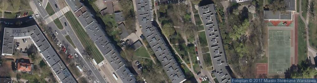 Zdjęcie satelitarne Śmiała ul.