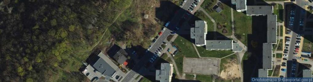 Zdjęcie satelitarne Śniadeckich ul.