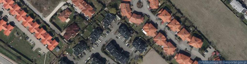 Zdjęcie satelitarne Śnieguliczki ul.