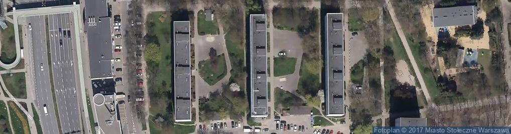 Zdjęcie satelitarne Śniardwy ul.