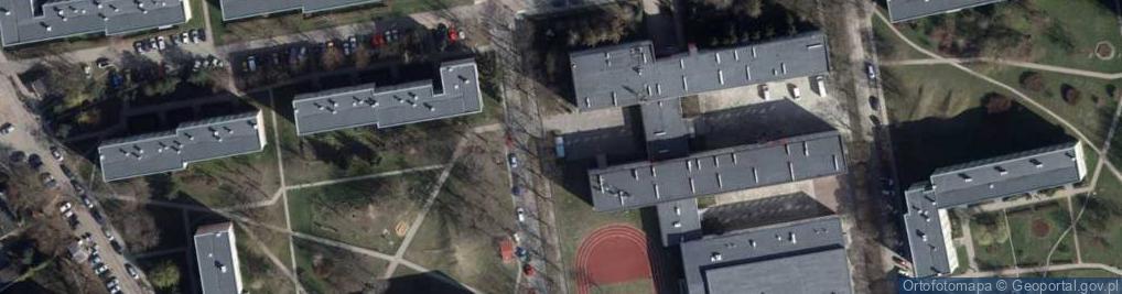 Zdjęcie satelitarne Socjalna ul.