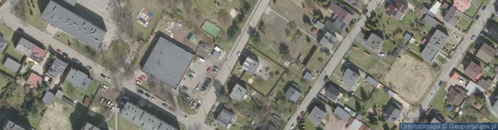 Zdjęcie satelitarne Sokolska ul.