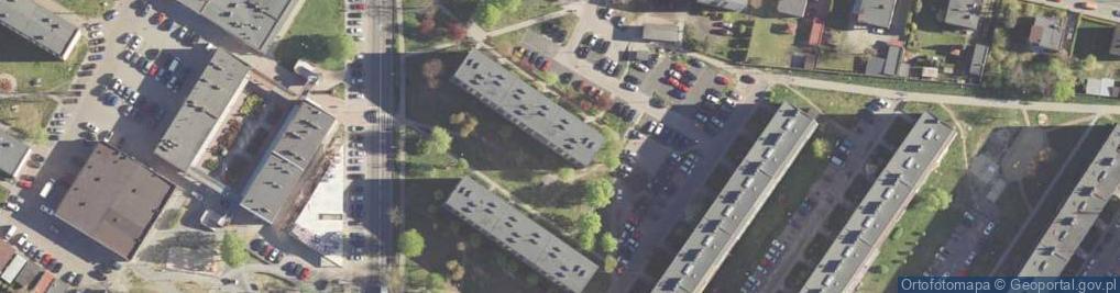 Zdjęcie satelitarne Solidarności ul.