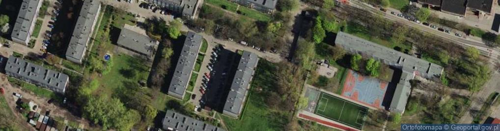 Zdjęcie satelitarne Solskiego Ludwika ul.
