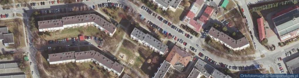 Zdjęcie satelitarne Solarza Ignacego ul.