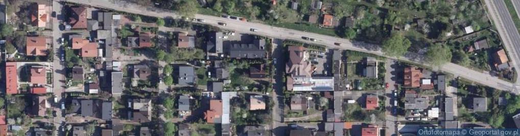 Zdjęcie satelitarne Sokola ul.