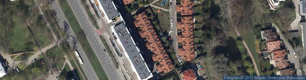 Zdjęcie satelitarne Sobieszyńska ul.