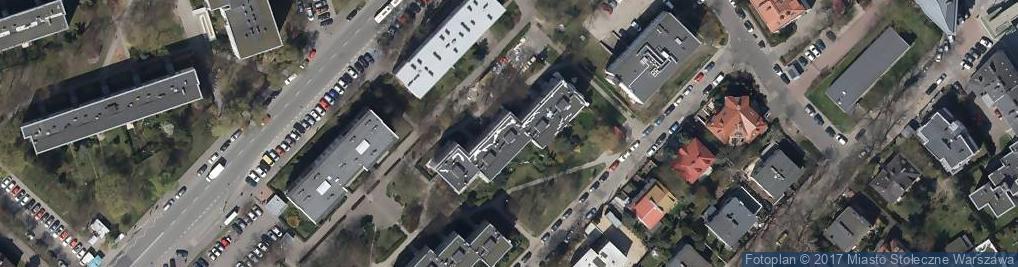 Zdjęcie satelitarne Solankowa ul.