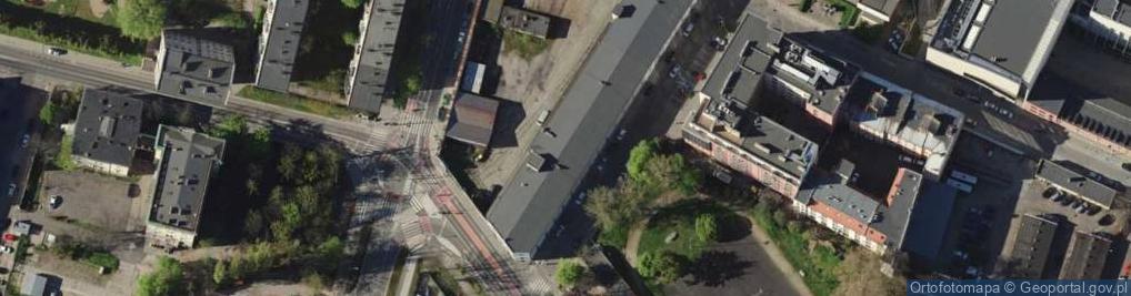 Zdjęcie satelitarne Sokolnicza ul.