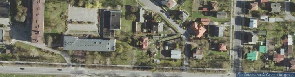 Zdjęcie satelitarne Sportowa ul.