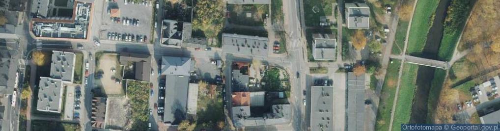 Zdjęcie satelitarne Spadek ul.
