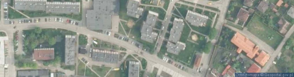 Zdjęcie satelitarne Spółdzielcza ul.