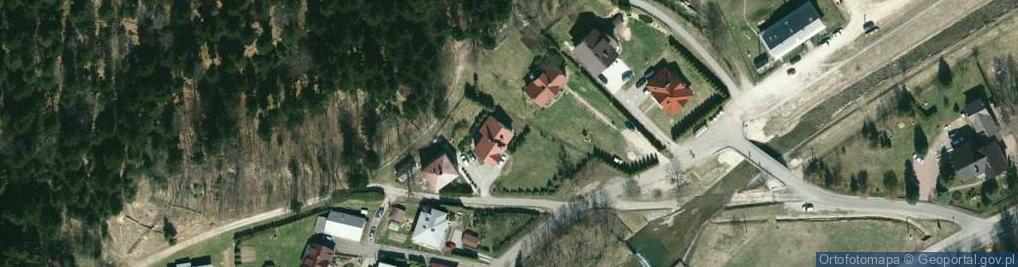 Zdjęcie satelitarne Spacerowa ul.