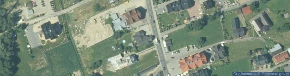 Zdjęcie satelitarne Środkowa ul.